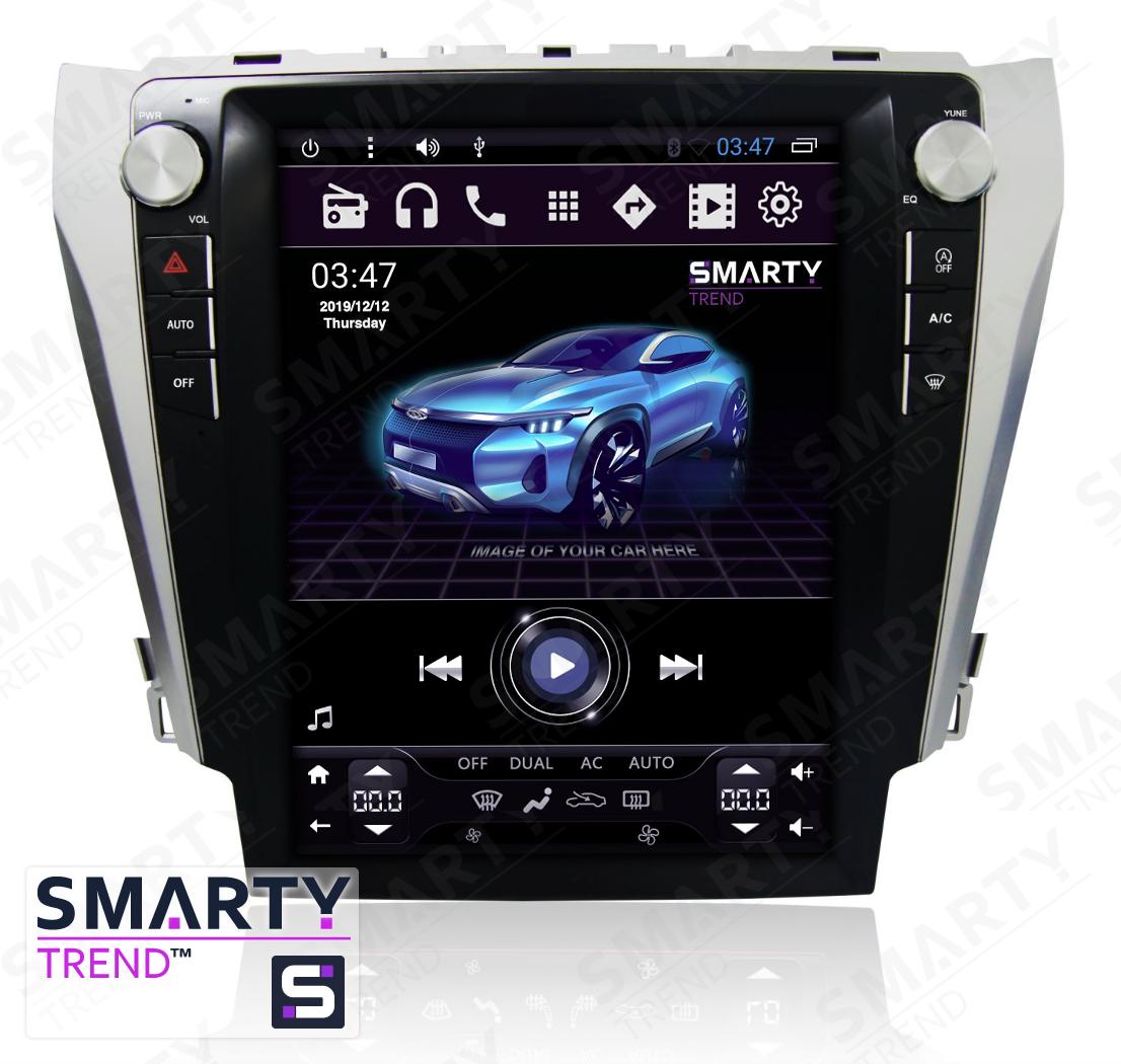 Штатная магнитола SMARTY Trend ST3PT-516PK2726 для Toyota Camry V50 2011-2014, Camry V55 2014-2015 (Tesla Style) Android