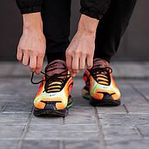 """Кроссовки Nike Air Max 720 """"Желтые\Красные\Черные"""", фото 2"""