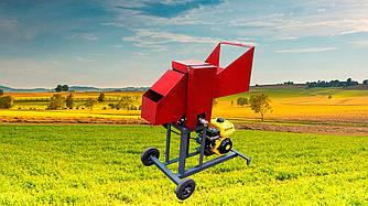 Веткоруб садовый измельчитель дров веток и обрези бензиновый двигатель РБ 80 Подрiбнювач гiлок,Дробилка веток