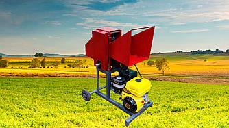 Веткоруб садовый измельчитель дров веток и обрези бензиновый двигатель РБ 100 Подрiбнювач гiлок,Дробилка веток