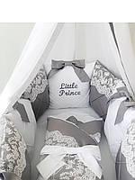 Бортики/ Постелька детская/ Комплект в кроватку