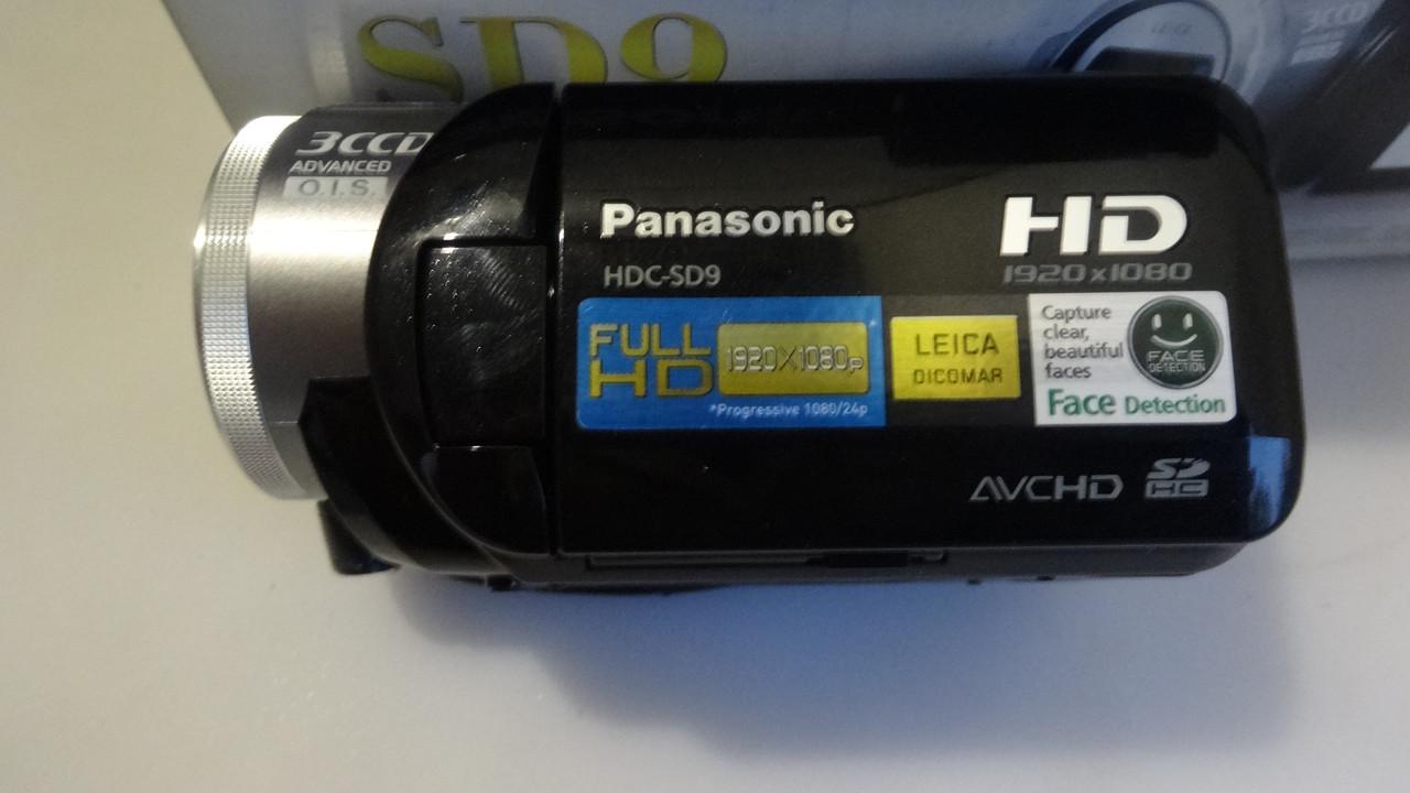 Видеокамера Panasonic HDC-SD9 fullhd 1920 x 1080