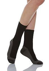 Диабетические носки с махровой стелькой, с серебром 550P