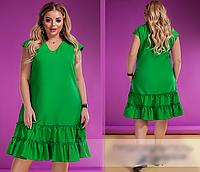 Платье летнее яркое,  с 50-60 размер, фото 1