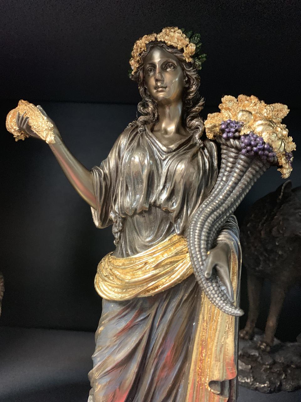 Статуэтка Veronese Деметра, богиня плодородия 30 см 75859A5
