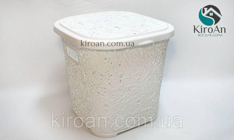 Корзина ажурная квадратная дляхранения белья или других мелочей 14л Elif