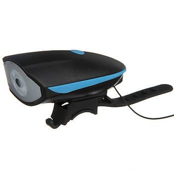 Велофара с сигналом Speaker Bicycle Light (AS180063)