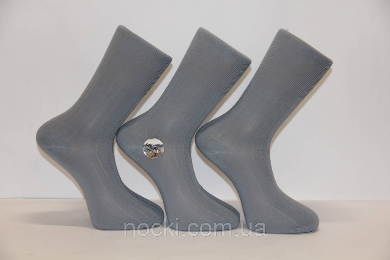 Мужские носки с хлопка BYT без резинок 1032 Ф15 (для диабетиков)
