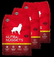 Корм для собак Nutra Nuggets Lamb & Rice 3X3 кг (Красная Нутра) с ягненком Made in the USA.