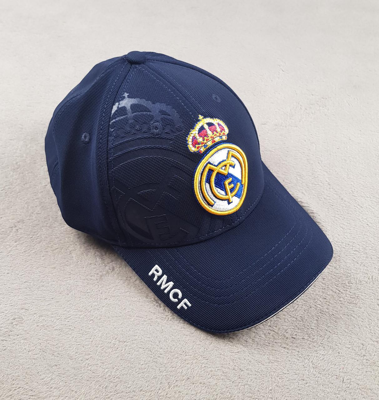 Футбольная кепка Реал Мадрид синяя