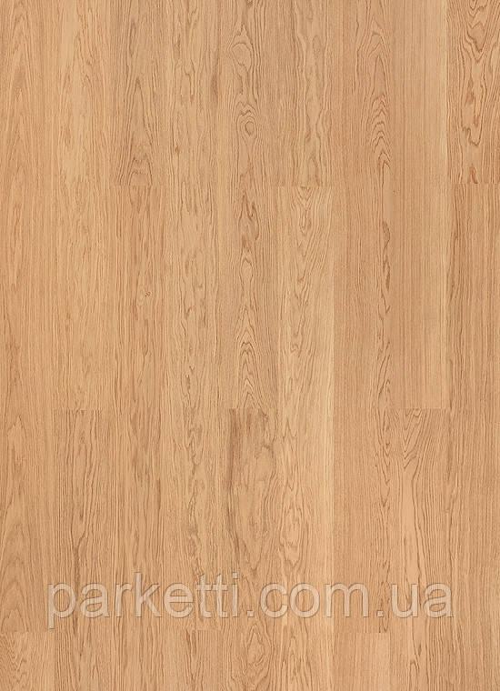 Паркетная доска Grabo Eminence Дуб Натур браш мат 1-пол, лак, фото 1