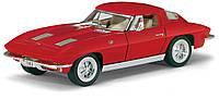 Автомодель металлическая 1:36 Corvette Sting Ray KT5358W Kinsmart
