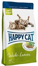 Корм Happy cat (Хэппи Кэт) ADULT MIT WEIDE-LAMM корм для взрослых котов с ягненком 10кг