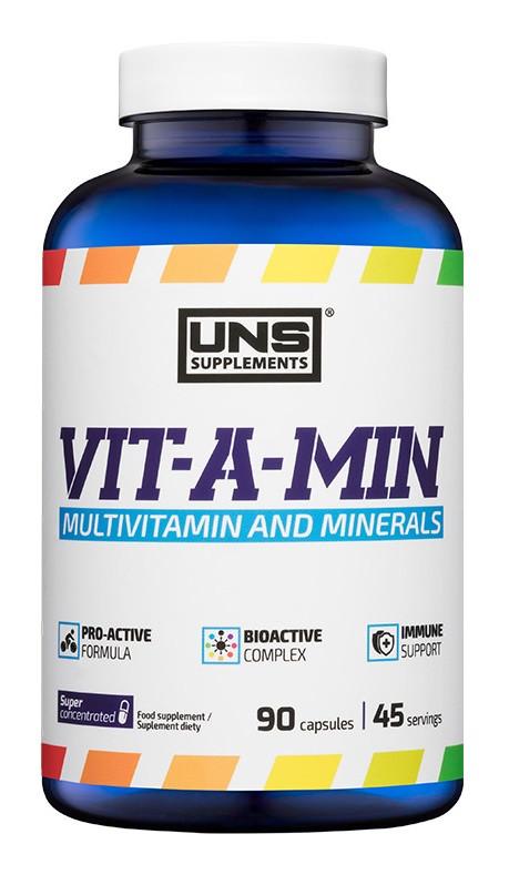 Витамины UNS - Vit-A-Min (90 капсул)
