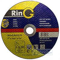Круг отрезной по металлу Ring 180 х 2,0 х 22,2, фото 1