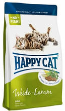 Корм Happy cat (Хэппи Кэт) ADULT MIT WEIDE-LAMM корм для взрослых котов с ягненком 4кг