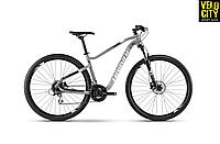 "Велосипед Haibike SeetHardNine 3.029"" 2019 серый"