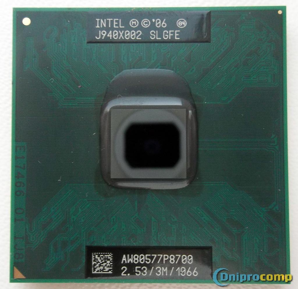 Intel Core2Duo P8700 SLGFE 2.53 GHz (BGA479, PGA478)