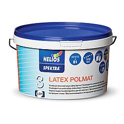 Полуматовая латексная краска для стен и потолка Latex Poolmat Spektra 10л