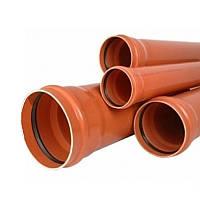 Труба ПВХ для наружной канализации (160х3,2 мм) 1м