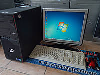 "Компьютер в сборе Fujitsu P700 / Intel Core i5 / 4Гб ОЗУ / 250 Гб HDD/ монитор 17"" / клавиатура мышка/кабеля"
