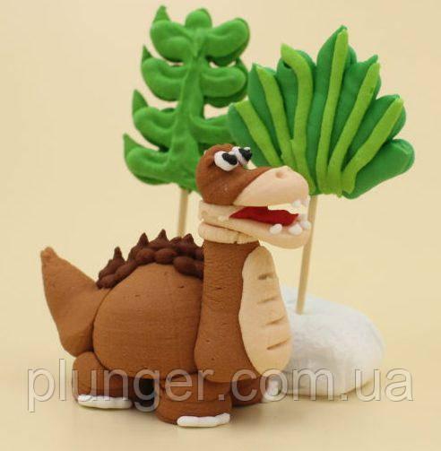 Цукрова прикраса для торта Динозавр