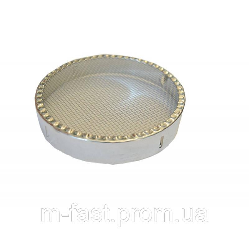 Ковпачок круглий металевий