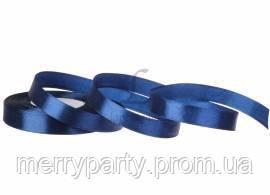 12 мм Атласная лента темно-синяя  (23 м) 120