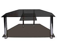 Стеклянный столик под ТВ-10