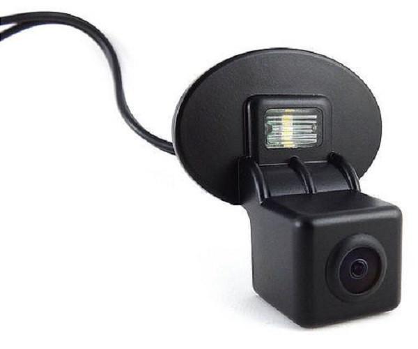 Штатная камера заднего вида Falcon SC78-SCCD. Hyundai Accent 4D 2011+/Kia Cerato 2010+/Venga 2009+