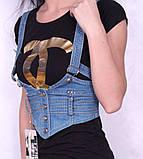 Женская легкая джинсовая жилетка, фото 5