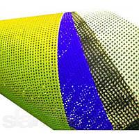 Сетка баннерная Mash, 270г/м2, подворот края, люверсы, сольвентная печать, 360 dpi