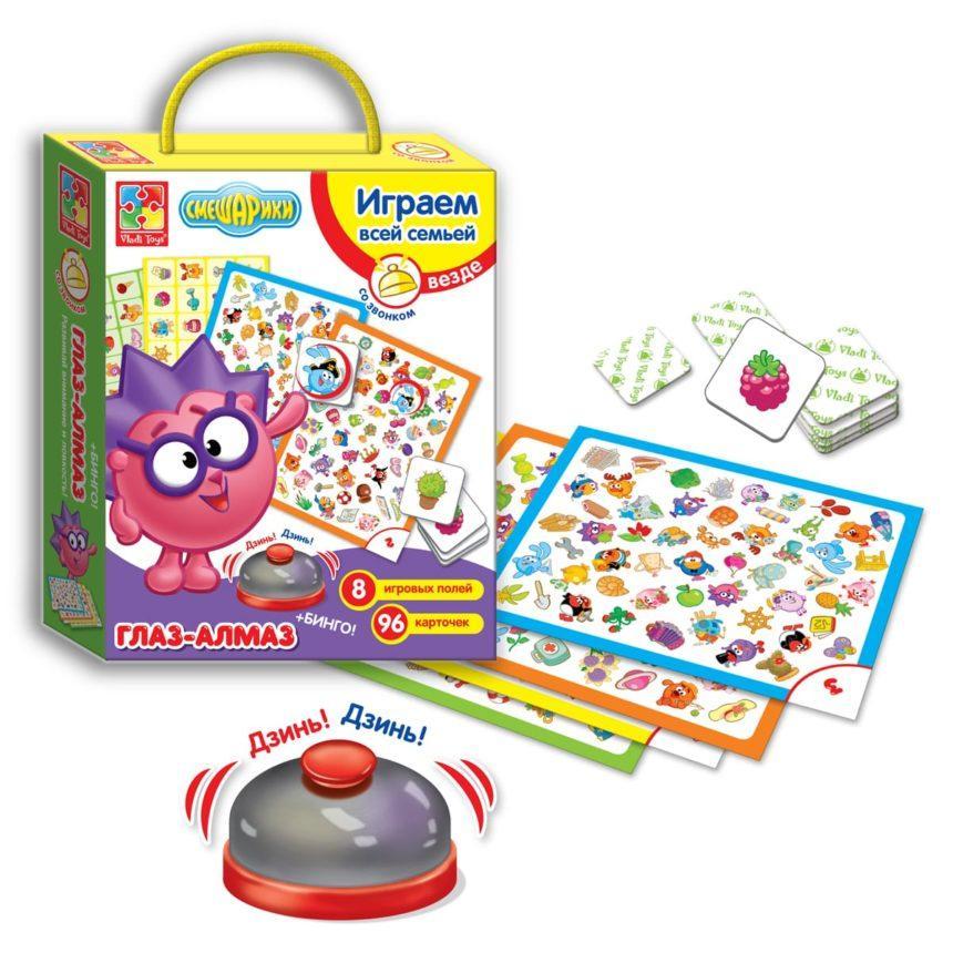 Игра со звонком Смешарики  Vladi Toys VT2103-02