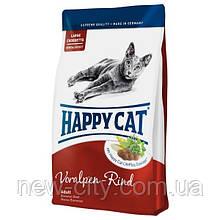 Корм Happy cat (Хэппи кэт) ADULT VORALPEN-RIND  для взрослых котов с говядина 4кг