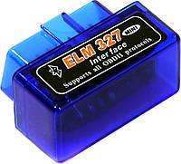Сканер ошибок для автомобиля OBD 2 mini ELM327 Bluetooth Blue