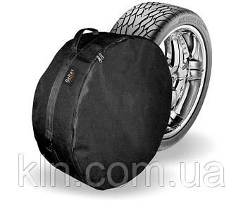 Чехол на запасное полноразмероное колесо M (64см*21см) R14-R15 черный Beltex