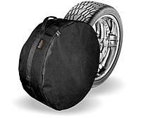 Чехол на запасное полноразмероное колесо XXL (85см*27см) R16-R20 черный Beltex