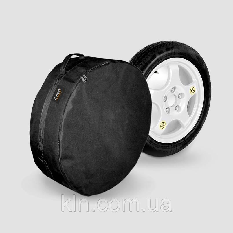 """Чохол на запасне колесо """"Докатка"""" (60см*14,5 см) R15 чорний Beltex"""