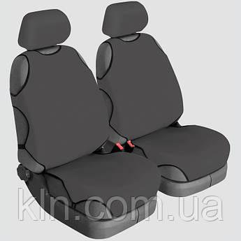 Чохли універсальні на передні сидіння Beltex Polo графіт PEUGEOT: 4007, 4008, 406, 407, 408, 508, 605, 607, Expert, Partner.