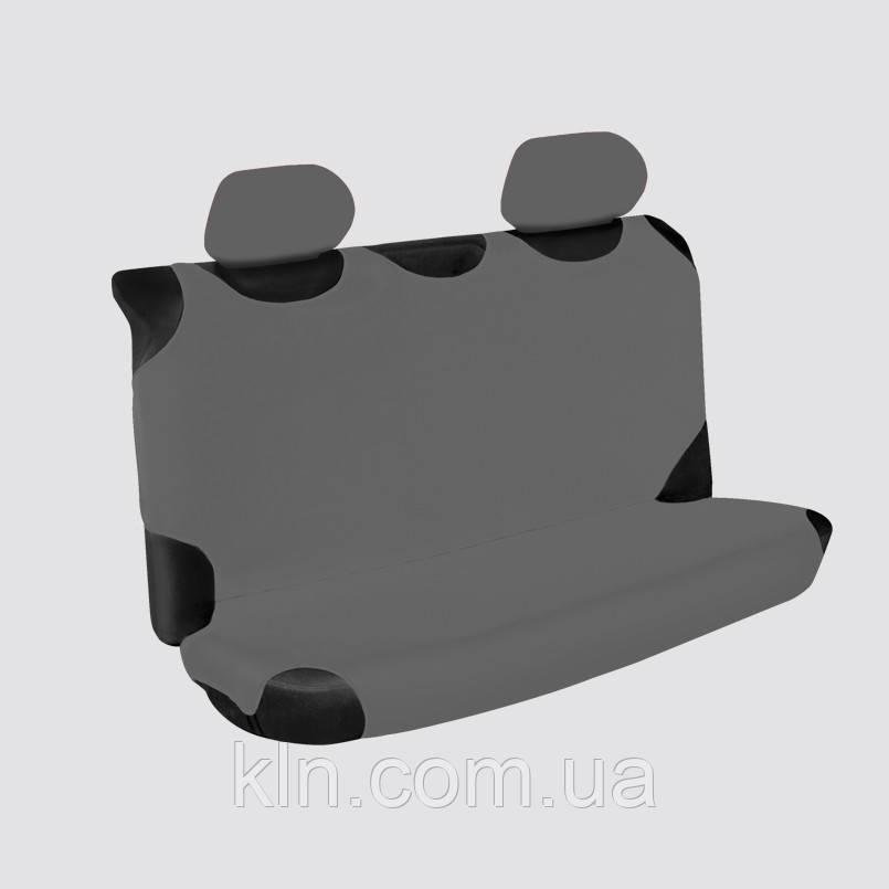 Чехлы универсальные на задние сиденья Beltex Polo серые MITSUBISHI: Lancer, Outlander XL, Pajero, Pajero