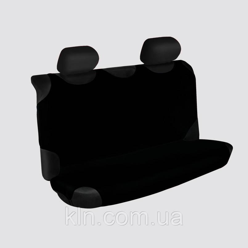 Чехлы универсальные на задние сиденья Beltex Polo черные NISSAN: Almera, Juke, Maxima, Murano, Note, Pathfinder