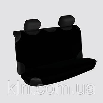 Чохли універсальні на задні сидіння Beltex Polo чорні NISSAN: Almera, Juke, Maxima, Murano, Note, Pathfinder