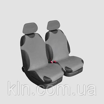 Чохли універсальні на передні сидіння Beltex Cotton сірі VOLKSWAGEN: Bora, Caddy, Golf, Jetta, Passat, Polo,