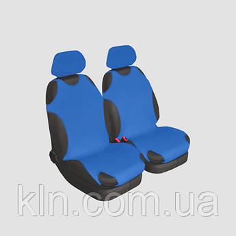 Чохли універсальні на передні сидіння Beltex Cotton сині VOLKSVAGEN: Sharan, Transporter, Tiguan, Touareg, Touran