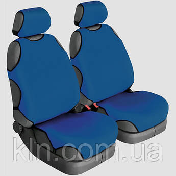 Чохли універсальні на передні сидіння Beltex Delux сині OPEL: Antara, Astra, Combo, Corsa, Insignia, Mokka, Omega,