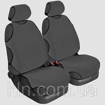 Чохли універсальні на передні сидіння Beltex Delux сірі KIA: Sorento, Soul, Sportage, Venga