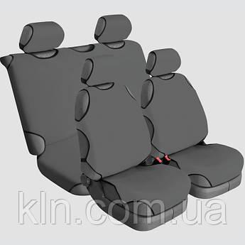 Чохли універсальні на 4 сидіння Beltex Delux сірі HYUNNDAI: Accent Coupe, Elantra, Getz, H-1, i20, i30, i40,
