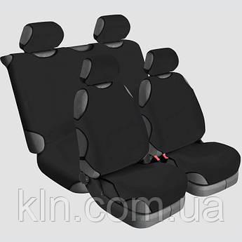 Чохли універсальні на 4 сидіння Beltex Delux чорні HONDA: Accord, Civic, CR-V, FR-V, HR-V, Legend