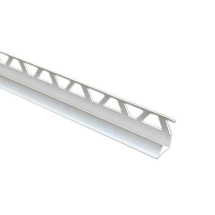 Уголок для плитки внутренний 9 мм белый, фото 2