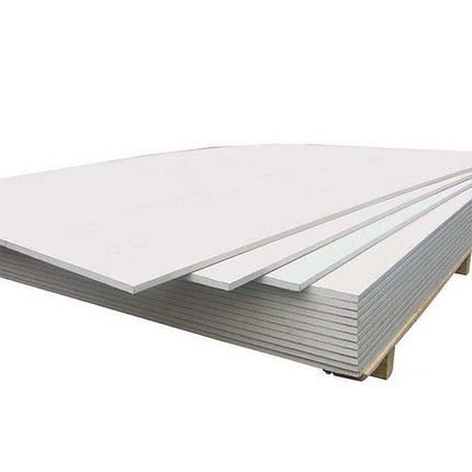 Гипсокартон потолочный KNAUF 1,2х2,5 м (9,5 мм), фото 2